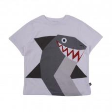 T-shirt Requin Arlo Blanc