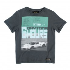 T-shirt Car Daytona Dalton Gris anthracite