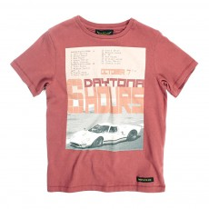 T-shirt Car Daytona Dalton Rouge brique