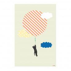 Affiche Chat volant