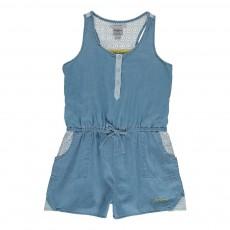 Combinaison Courte Venetia Bleu jean