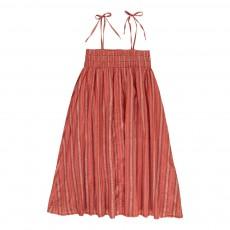 Robe Longue Lurex Pippa Rouge