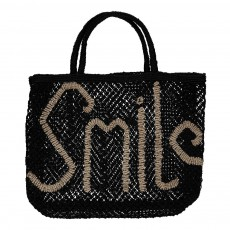 Sac Smile Jute Noir