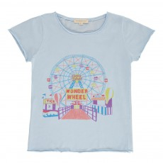 T-shirt Wonder Wheel Bleu pâle