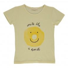 T-shirt Donut Jaune pâle