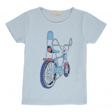 T-shirt Chopper Bleu pâle