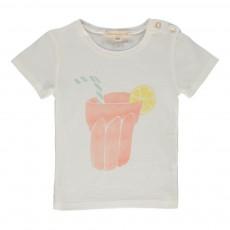 T-shirt Limonade Bébé Ecru