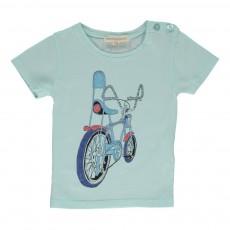 T-shirt Chopper Bébé Vert pâle