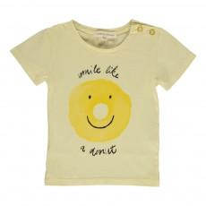 T-shirt Donut Bébé Jaune pâle