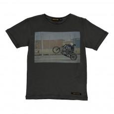 T-shirt Biker Dalton Gris anthracite