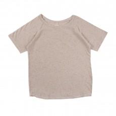 T-shirt Moucheté Santos  Blanc