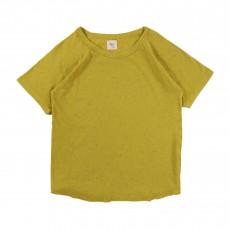 T-shirt Moucheté Santos  Jaune
