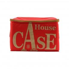 Rangement House Case - Rouge