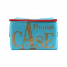 Rangement House Case - Bleu turquoise