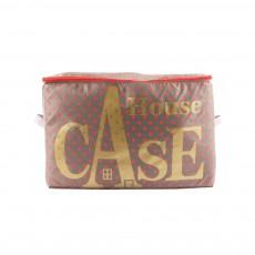 Rangement House Case à pois rouges