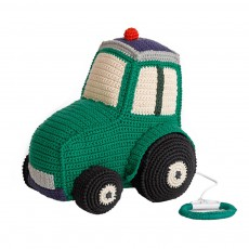 Boîte à musique tracteur Vert