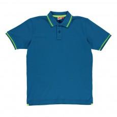 Polo Piqué Brice Bleu turquoise
