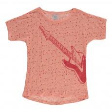 T-shirt Tarzany Rose pêche