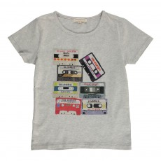 T-shirt Mixtape Gris chiné