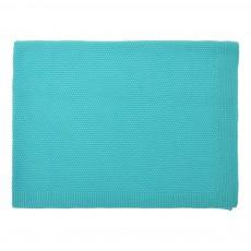 Plaid Bou 75x100 cm Bleu turquoise