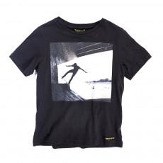 T-shirt Skater Dalton Noir