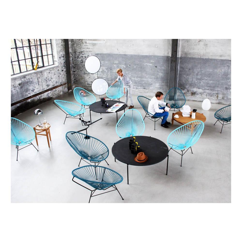 fauteuil acapulco bleu p trole sentou mobilier smallable. Black Bedroom Furniture Sets. Home Design Ideas