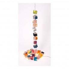 Guirlande cubiste LED Multicolore