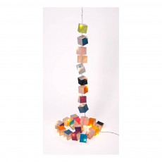 Guirlande new cubiste 25 LED Multicolore