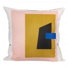 Coussin Fragment - Blanc - 50x50 cm