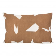 Coussin Cut - Taupe - 60x40 cm