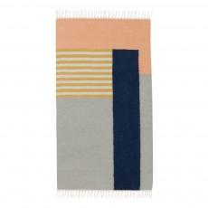 Tapis Kelim - Lignes blanches - 80x140 cm