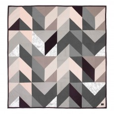 Couverture Arrow - Gris - 235x245 cm