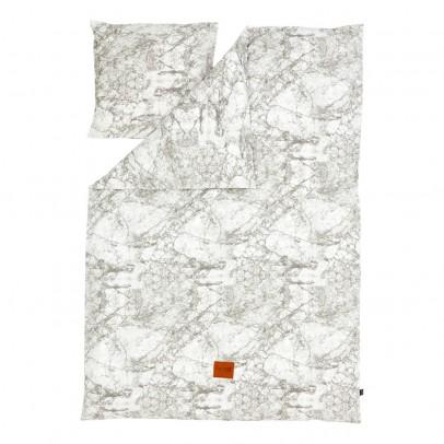 parure de lit marbre gris 140x200 cm ferm living. Black Bedroom Furniture Sets. Home Design Ideas