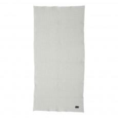 Serviette de bain - Gris clair - 70x140 cm