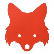 Lampe renard - Rouge
