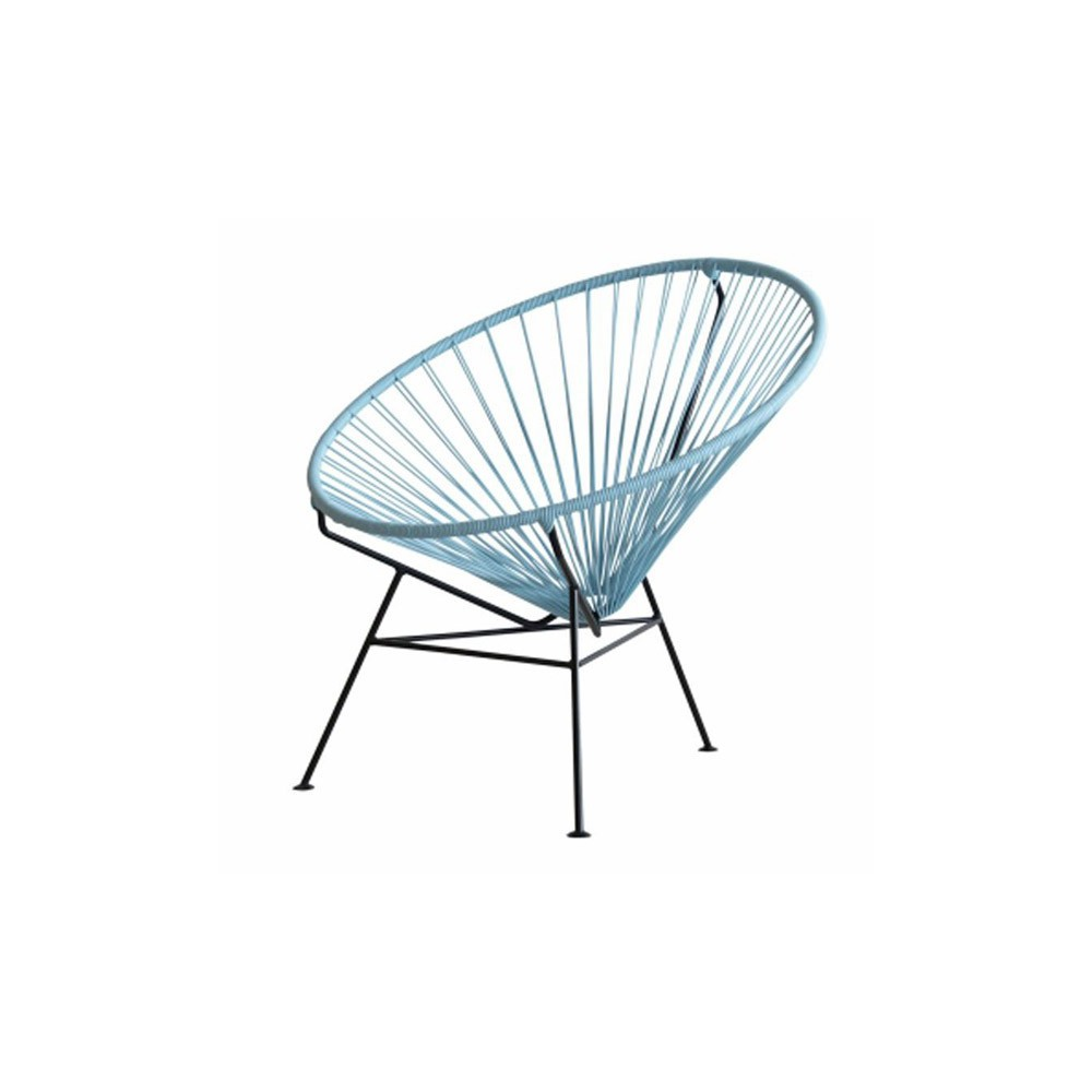 Fauteuil condesa bleu gris sentou mobilier smallable - Fauteuil sentou ...