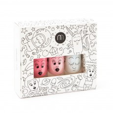 Pack 3 vernis Cosmos roses