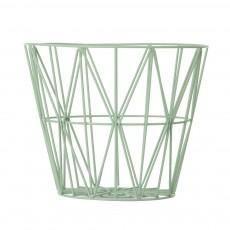 Panier Wire moyen - Vert amande