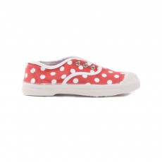 Tennis Elly Pois Rouge