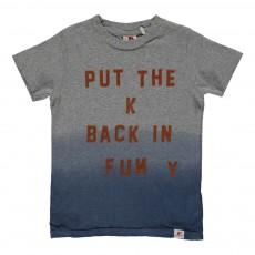 T-shirt Tie&Dye Gris