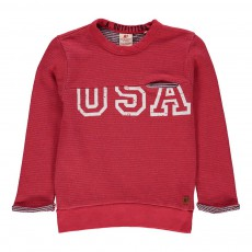 "Sweat ""USA"" Rouge"