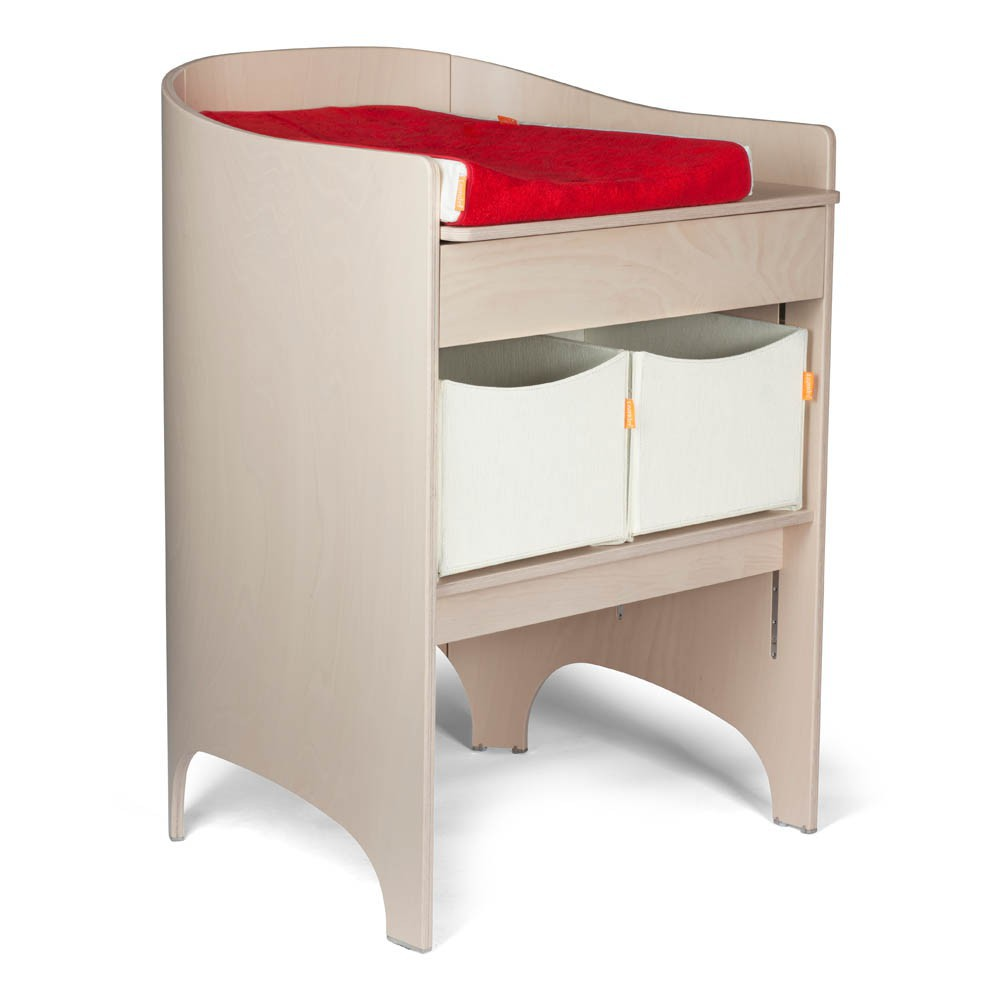 Table langer volutive beige c rus leander univers - Table a langer compact ...