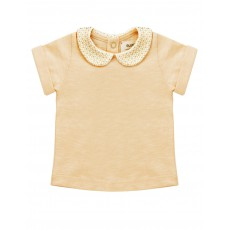 Blouse Col Claudine Se Tenir A Carreau Rose pêche