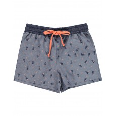 Short Badminton Playtime Bleu jean