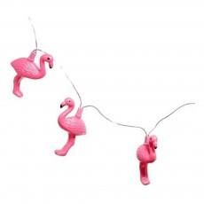 Guirlande lumineuse flamants roses Rose