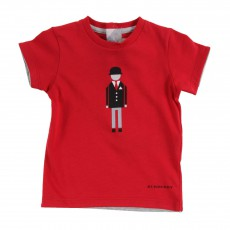 T-shirt Dandy Anglais Rouge