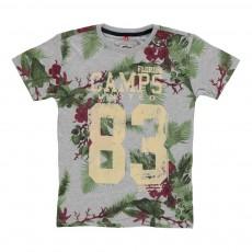 T-shirt Tropical 83 Gris chiné