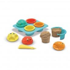 Set à cupcake pour le sable