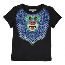 T-Shirt Funky Monkey Noir