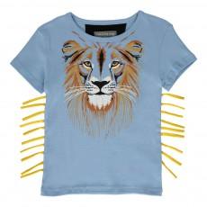 T-Shirt King Lion Lavande